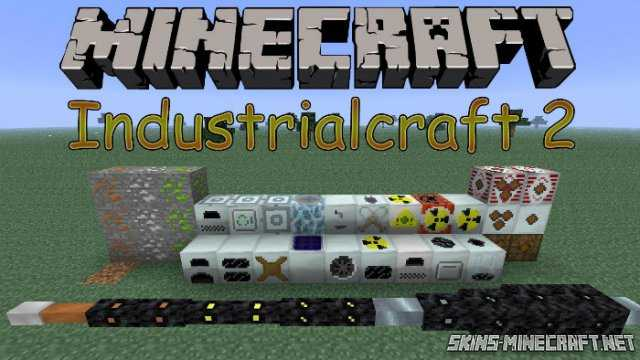 Скин Industrial Craft 2 Mod для Minecraft PE